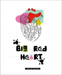 Denisse-Montáre---Ilustración-DinA3-Big-Red-Heart-2---PVP-40€